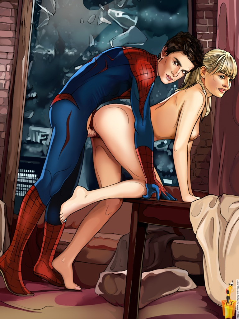 The amazing spider man porn