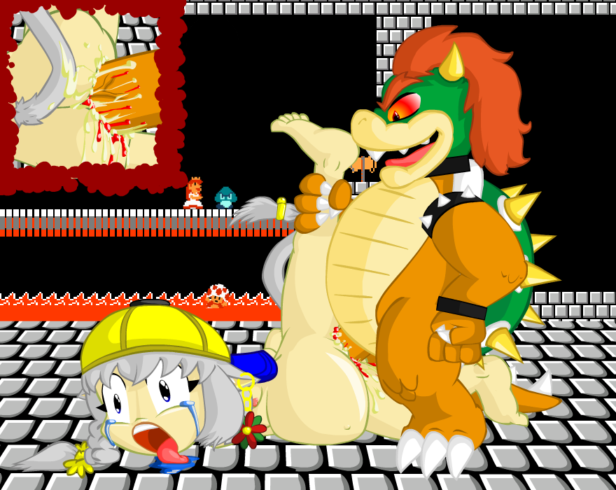 Bowser castle hentai full