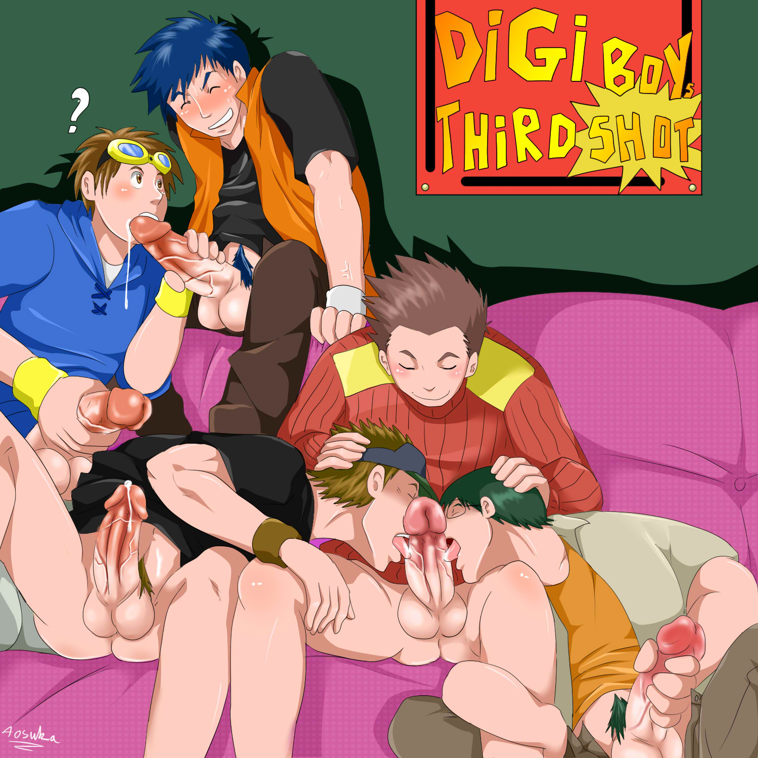 Digimon naked gay