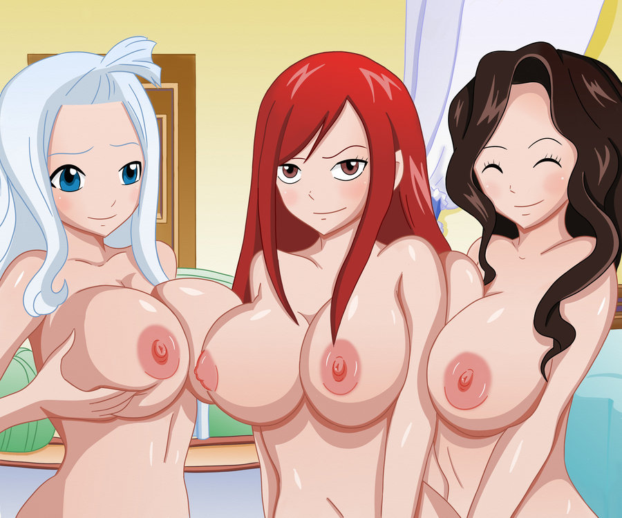 fairy tail erza naked