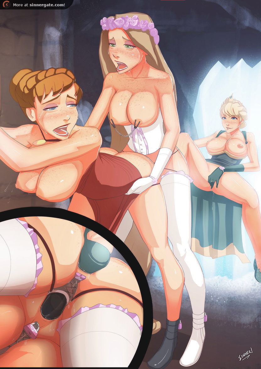 Anal Anime Dungeon Porn rule 34 - 3girls anal anal insertion anna (frozen) ass