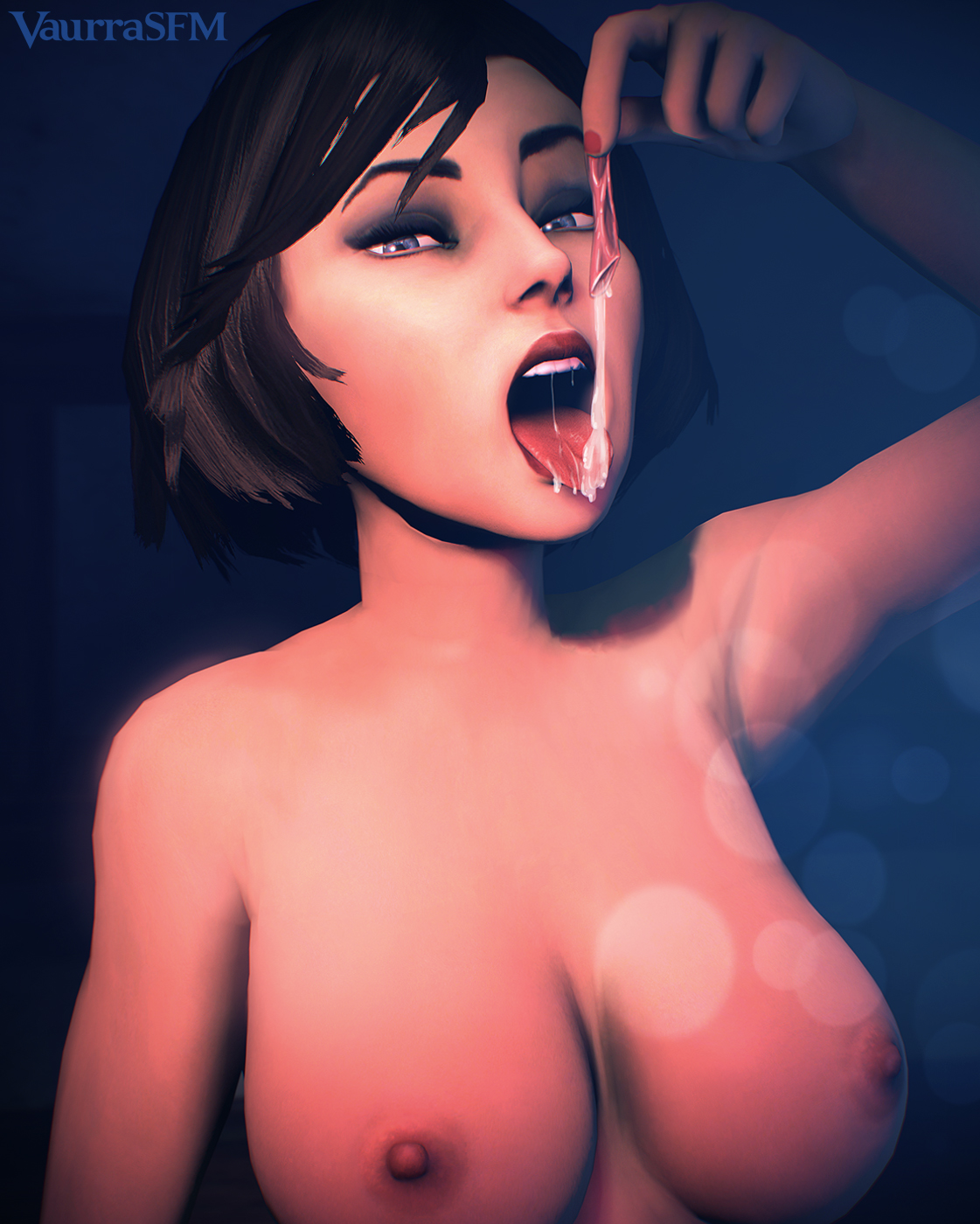 Bioshock infinite elizabeth naked boobs