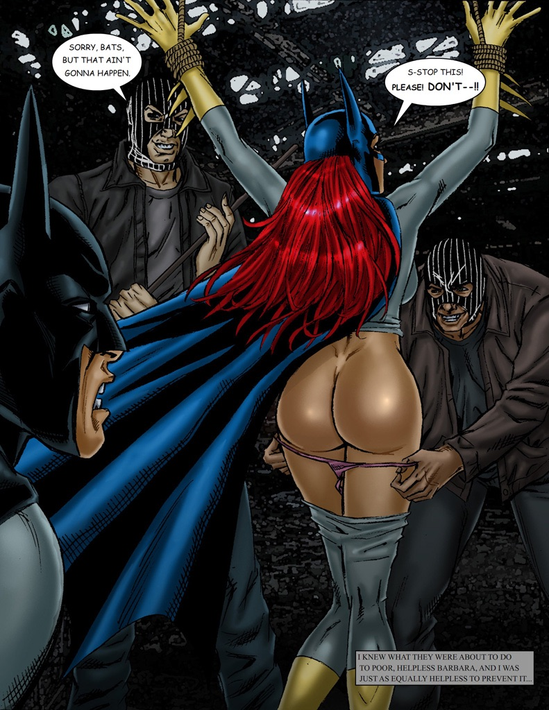 Batgirl barbara gordon naked