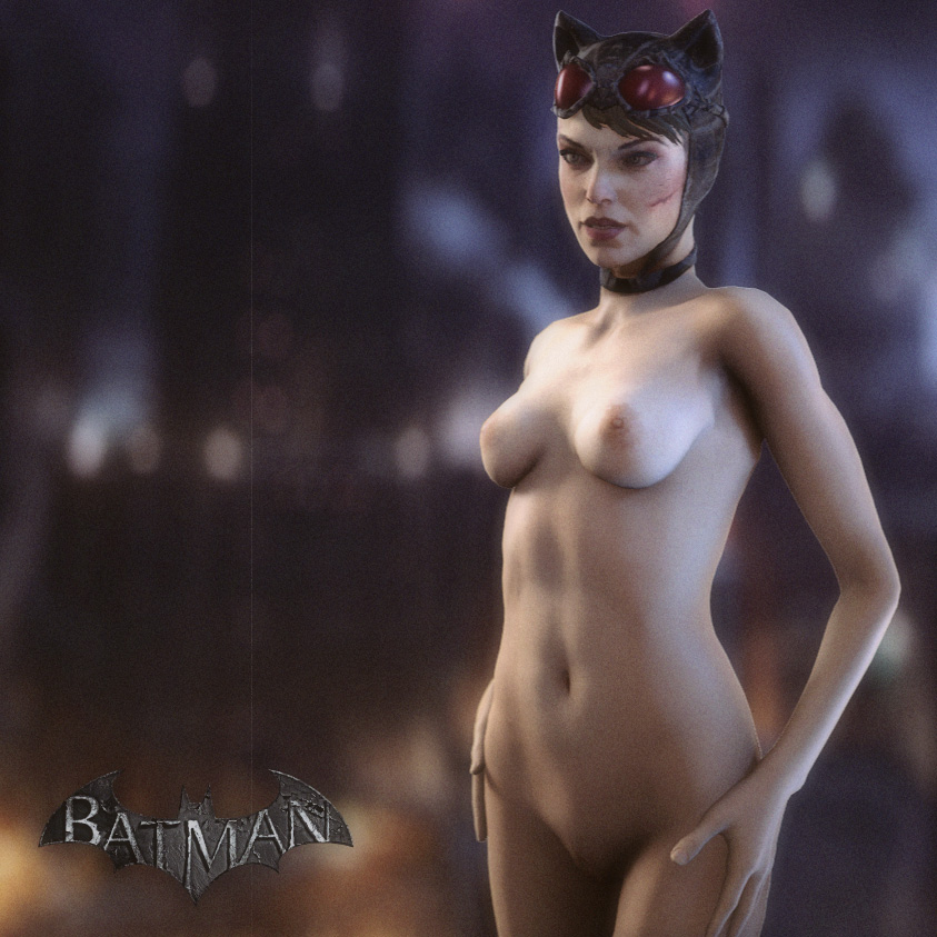 naked catwoman