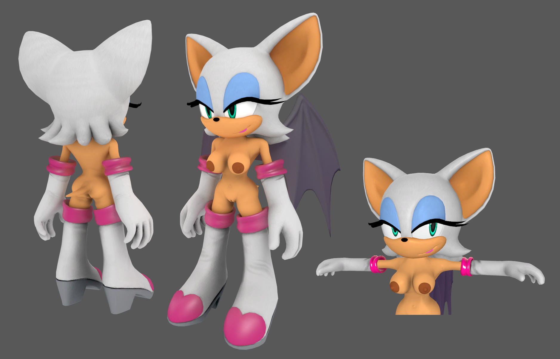 Rouge the bat sexy nackt