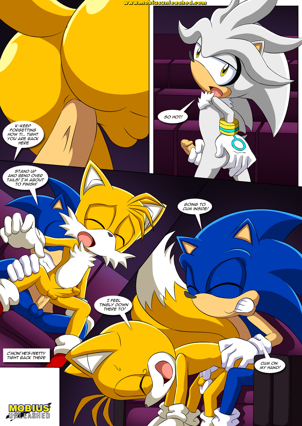 Sonic the hedgehog gay sex