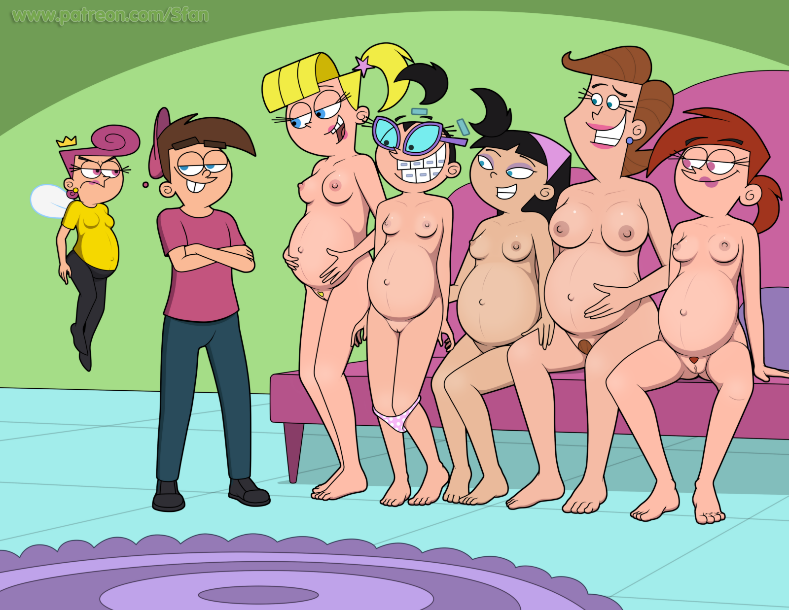 But Fairly odd parents showing pussy share