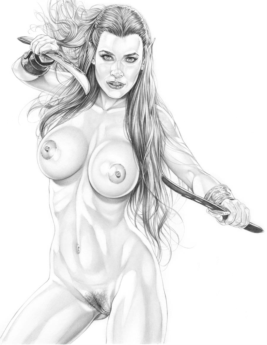 Tauriel naked