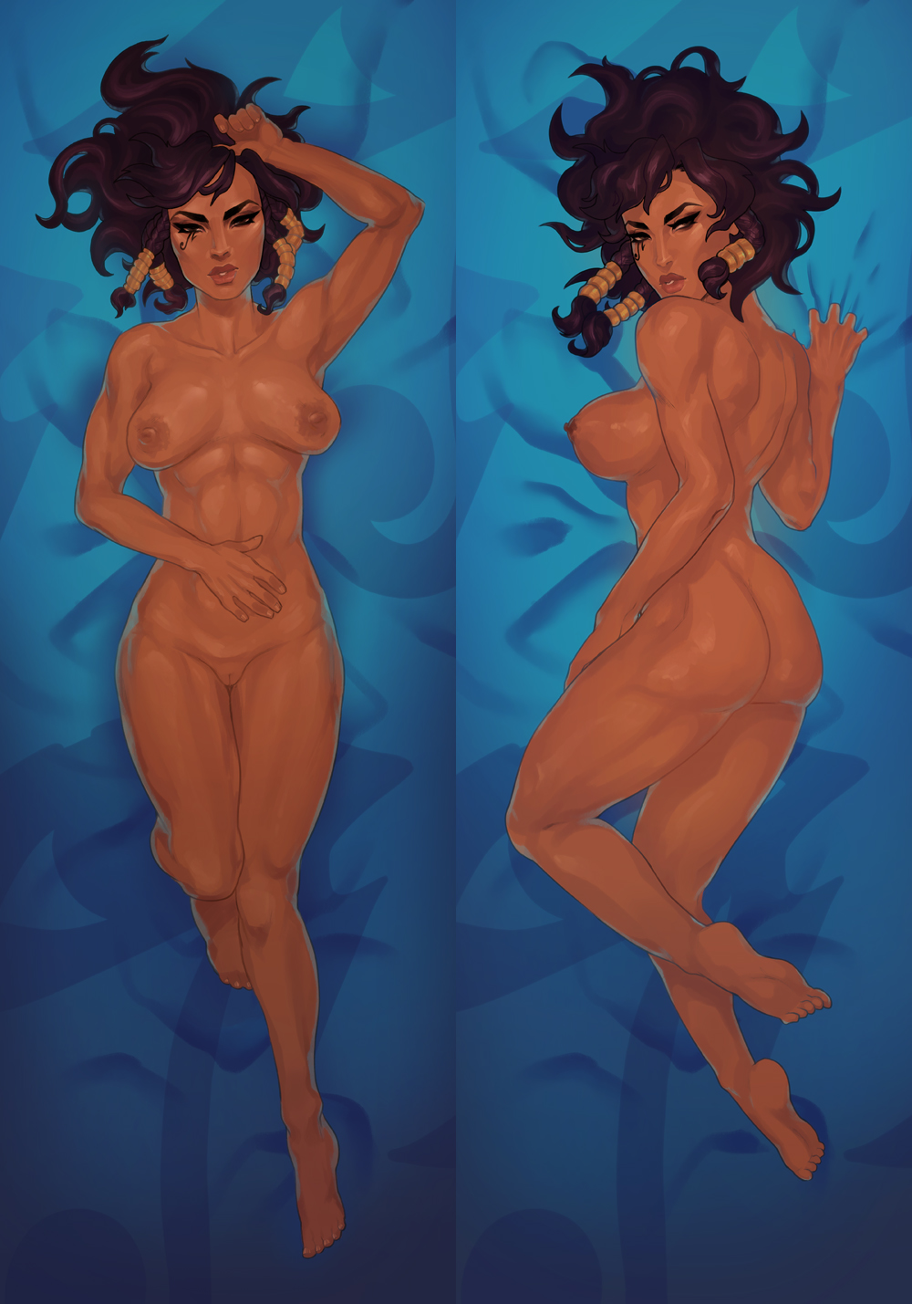 asieybarbie dakimakura female female_only overwatch pharah tagme