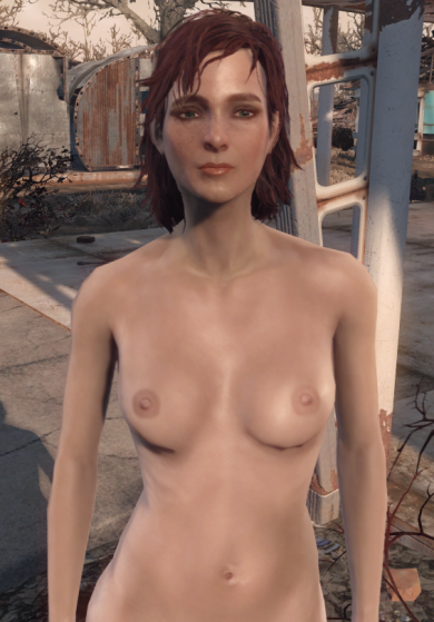 Fallout 4 Cait Naked