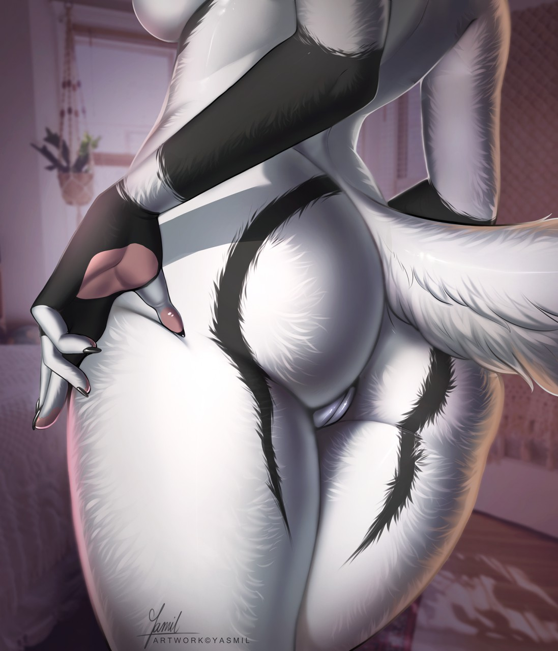 5 Fingers In Pussy rule 34 - 2019 5 fingers anthro breasts canid canine