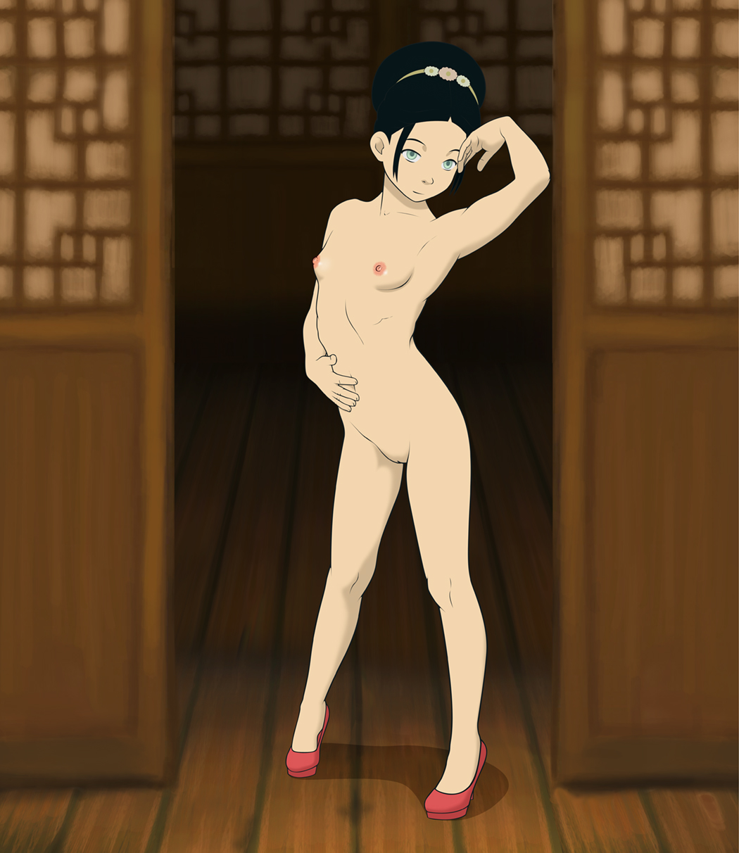 Avatar The Last Airbender Naked rule 34 - anaxus avatar the last airbender black hair blind