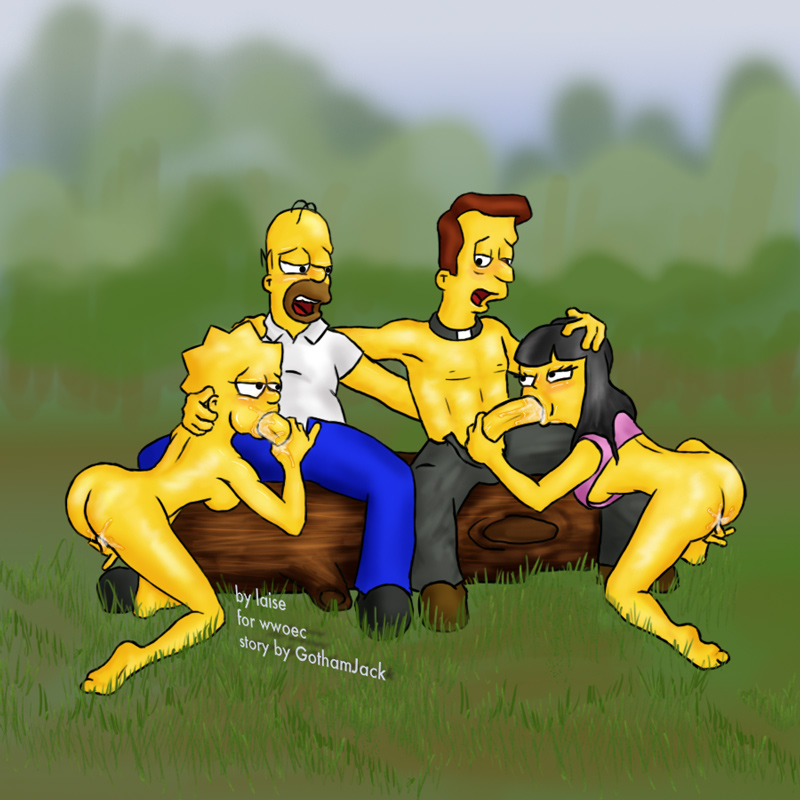 Lisa and marge porn simpson jessica