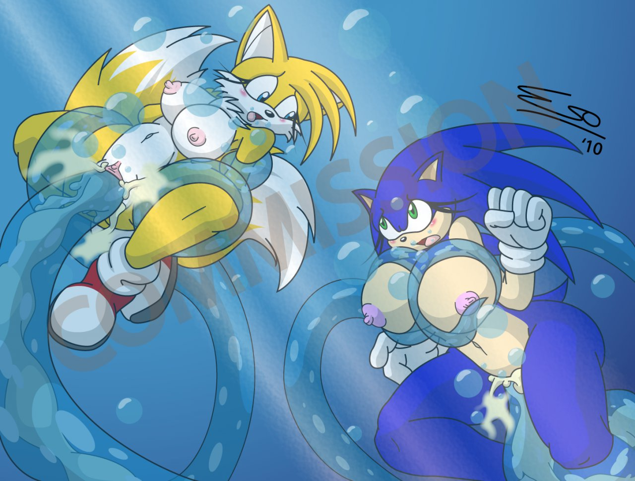 Sonic the hedgehog naked tails