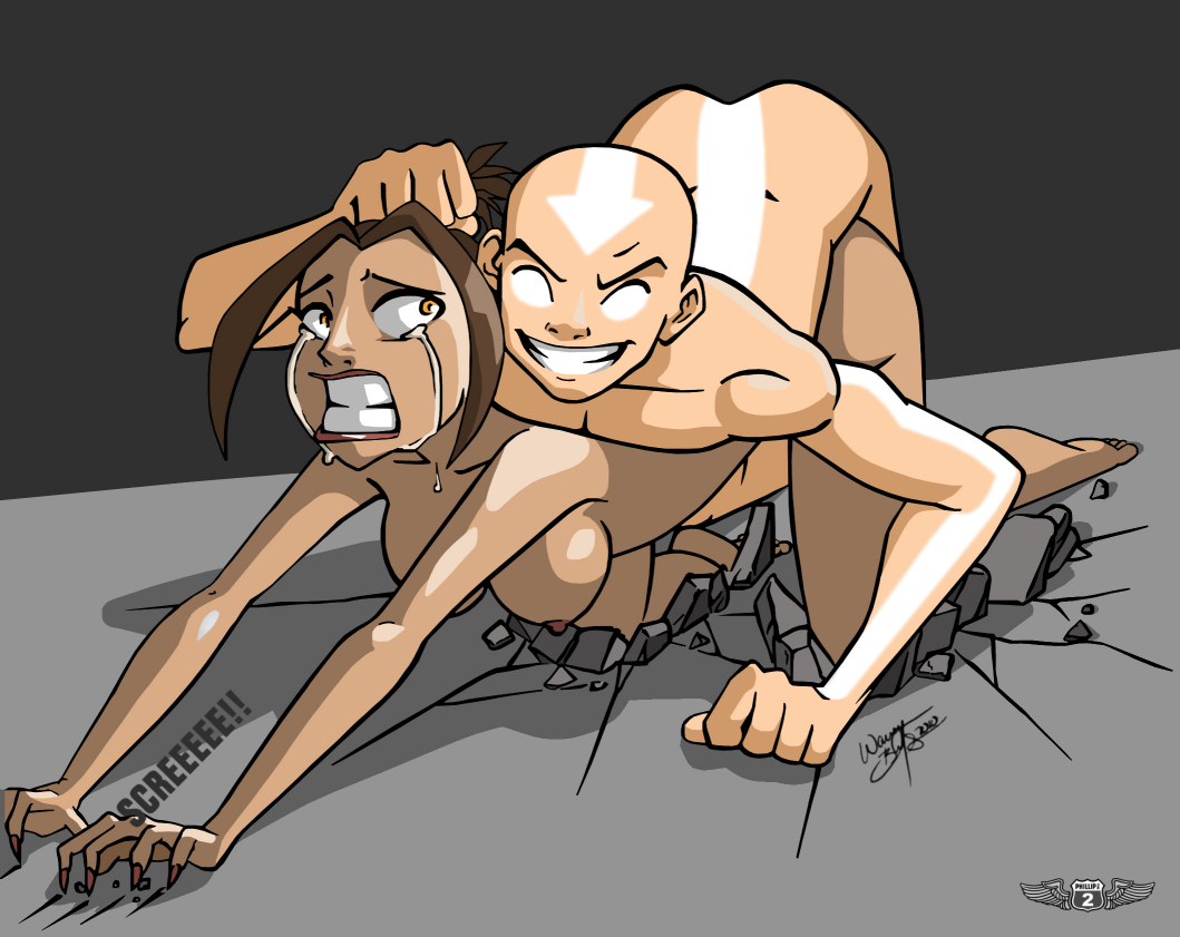 Avatar The Last Airbender Naked rule 34 - aang aeolus06 age difference all fours avatar the