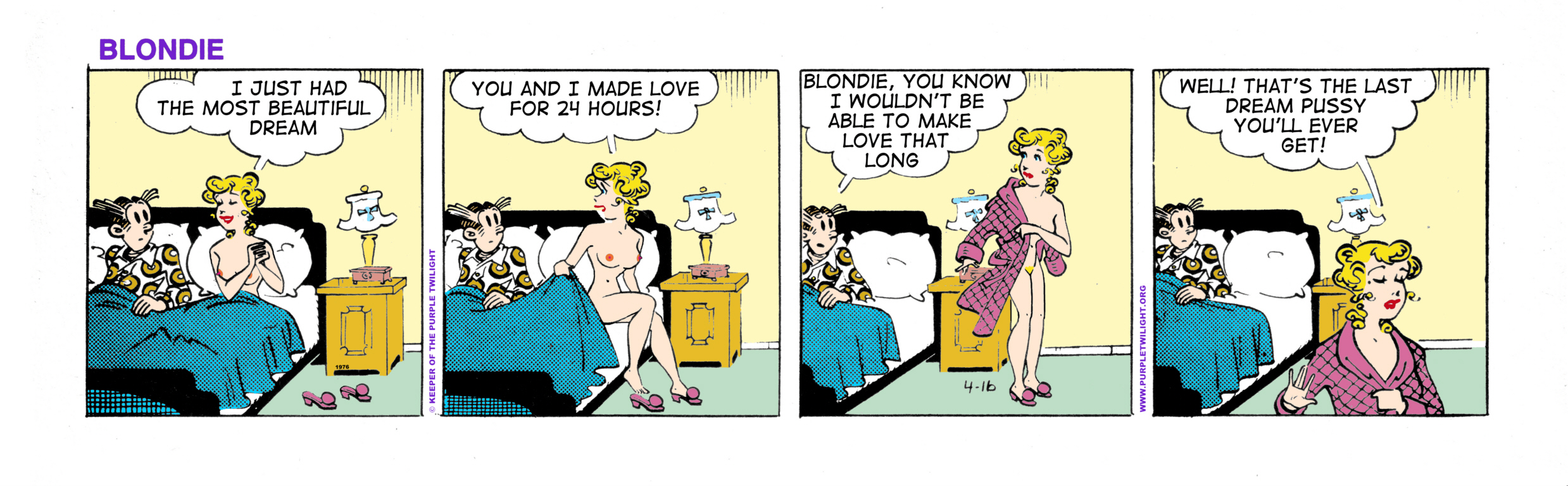 And sex cartoon blondie dagwood apologise, but not