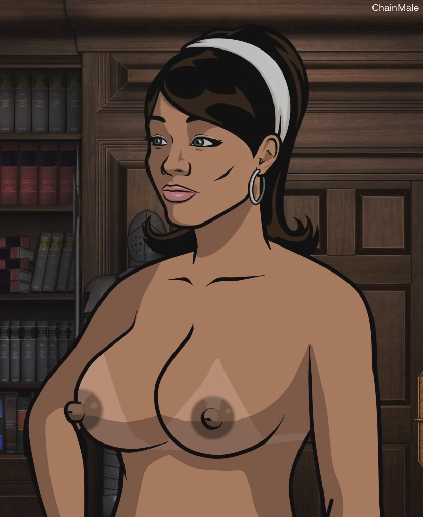 Lana from archer naked