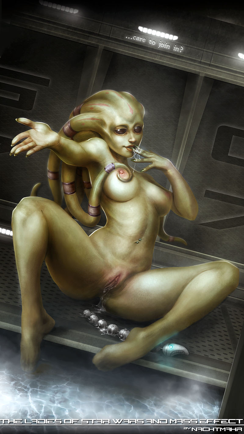 Alien Nude Girls rule 34 - alien alien girl black eyes breasts female