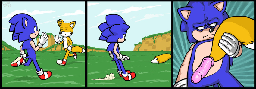 Sonic The Hedgehog Dildo
