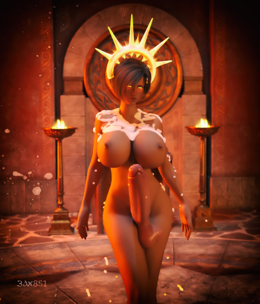 1futa 3d 3dx851 areola areolae ass backboob balls big_ass big_balls big_breasts big_penis black_hair breasts busty cleavage dark_hair dickgirl feet female flaccid futa_on_female futanari hourglass_figure huge_breasts huge_cock kneeling looking_at_viewer looking_back nipples penis shiny_skin standing testicles veiny_penis voluptuous