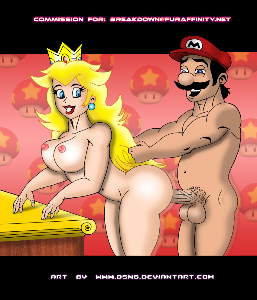 Princess Peach And Mario Sex