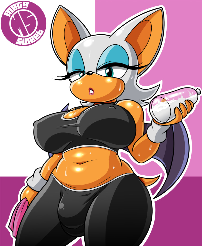 Rouge the bat futanari
