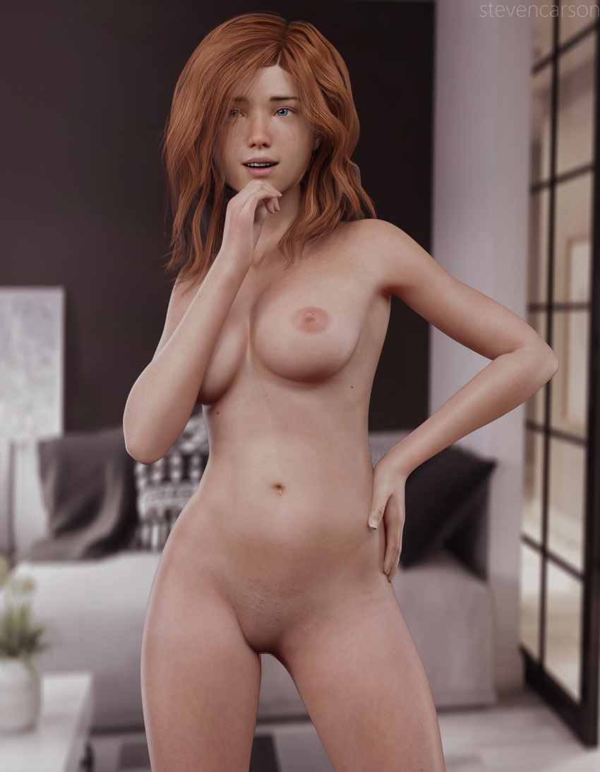 Rule 34 - 3d 3dx blue eyes breasts breasts breasts completely nude