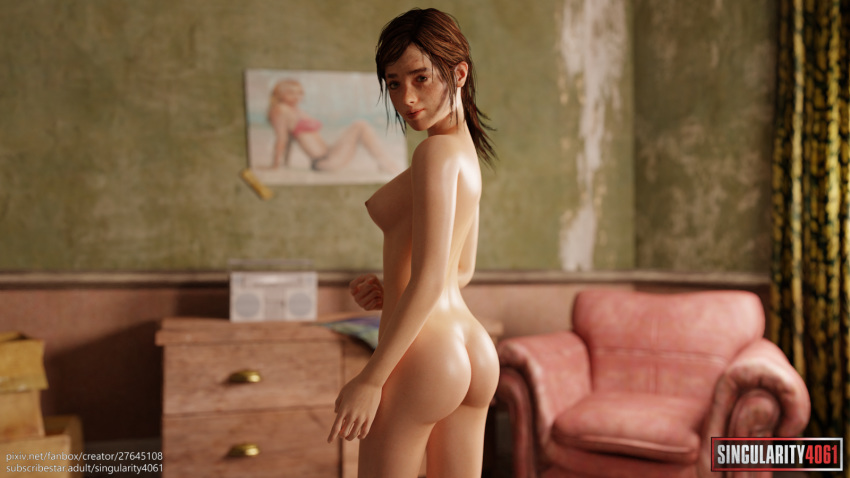Ellie the last of us nackt