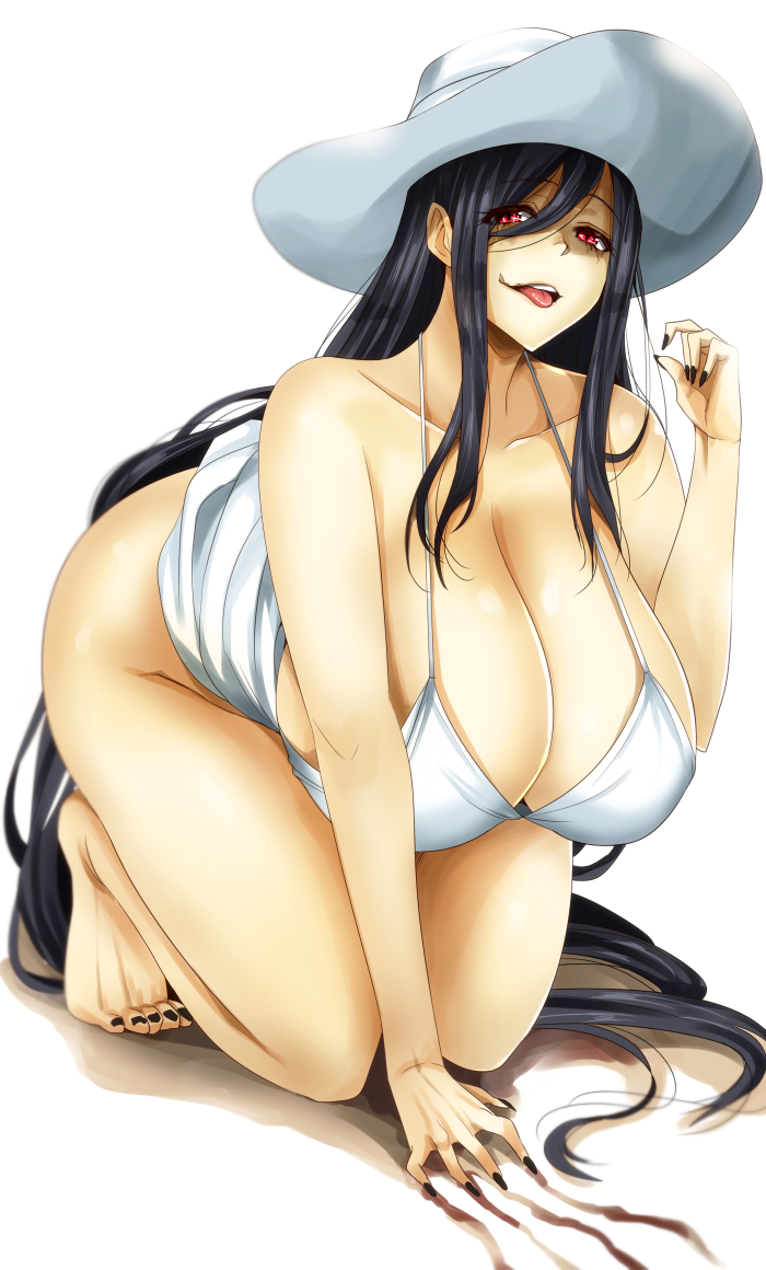 Rule 34 - 1Girls All Fours Barefoot Black Hair Breasts -1332