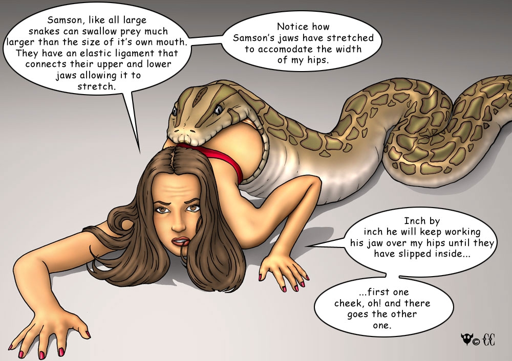 Rule 34 - Carnivore Cafe Comic Educational Female Feral -2119