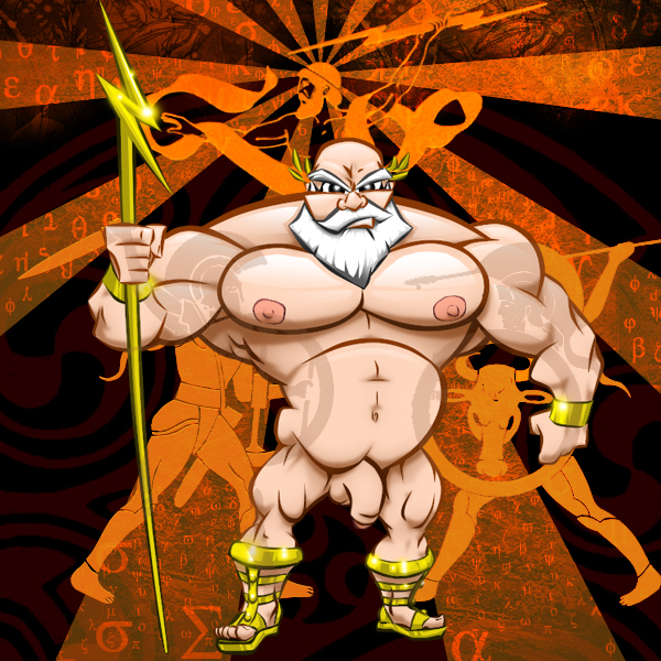 naked Body picture male zeus builder