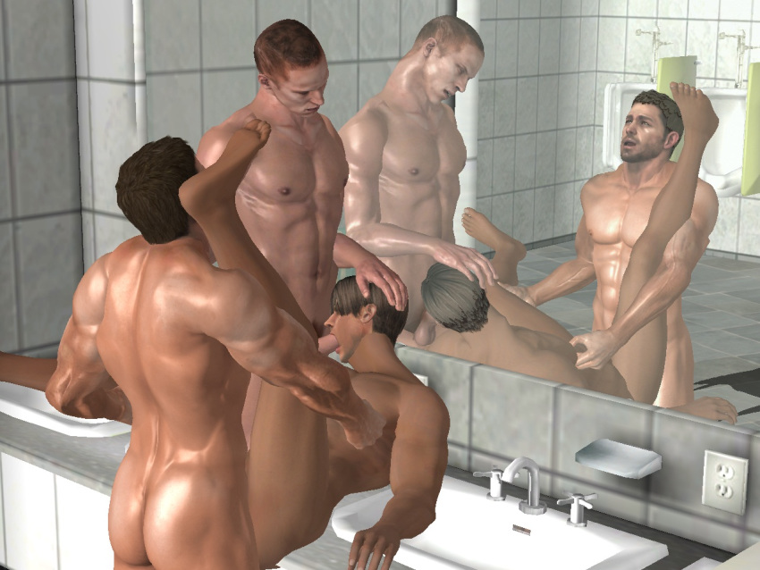 Animierter Gay-Blowjob In 3d
