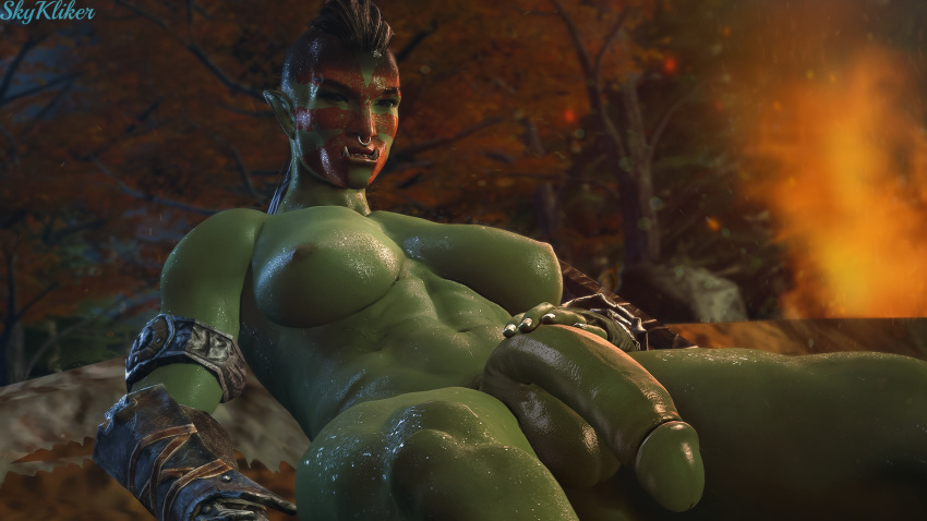 Warm Nude Orc Male Pictures