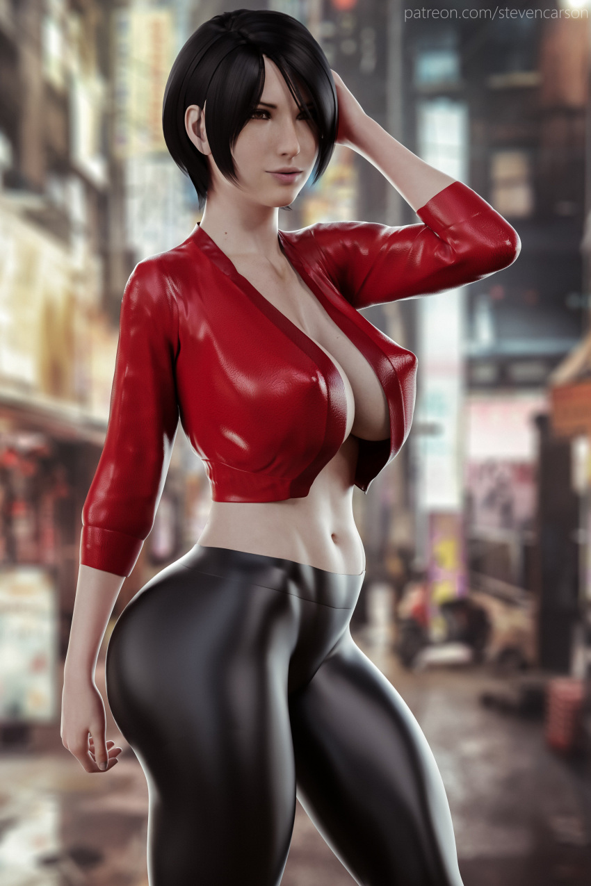 Rule 34 - 1girls 3d abs absurdres ada wong big breasts