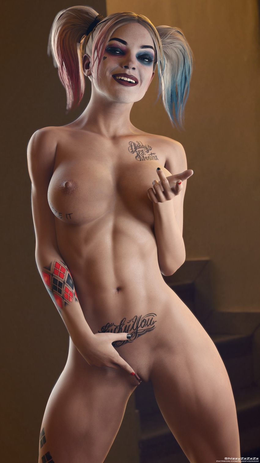 Hot Harley Quinn Nude Mod Pic