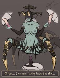 cydaea diablo diablo_3 spider_girl tagme zepht7  rating:explicit score:22 user:bot