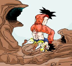 2boys anal animated badendxxx bondage daily_dose dragon_ball dragon_ball_z gay legs_held_open male male_only malesub penis pixel_art rape sex son_goku vegeta yaoi rating:Explicit score:46 user:bot