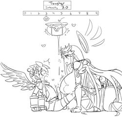 angel angel_wings big_breasts black_and_white breast_expansion graphite_knight growth kid_icarus line_art nintendo palutena penis penis_growth pit pit_(kid_icarus) sepiascribe rating:Explicit score:31 user:fuckadelic