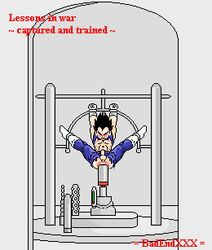 anal_insertion animated badendxxx beige_skin bondage bound_ankles bound_wrists clothes color dildo dragon_ball dragon_ball_z front_view indoors machine male male_only malesub penis pixel rape sex_machine solo torn_clothes vegeta rating:Explicit score:15 user:bot