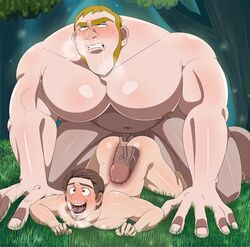 2019 2boys 5_fingers ahe_gao anal anal_sex anus ass ass_up bara big_dom_small_sub big_penis blonde_hair blush breath bubble_butt chubby circumcised clenched_teeth color digital_media_(artwork) disney doggy_style duo erection eyes eyes_open face_down_ass_up fingernails flynn_rider forest from_behind from_behind_position gay grass happy happy_sex huge_cock human impossible_fit looking_pleasured male male/male male_only male_penetrating multiple_boys muscle muscles muscular muscular_male naked niku_futon nipples nose not_furry nude open_eyes open_mouth outdoors pale-skinned_male pale_skin pecs penis puffy_anus rolling_eyes saliva saliva_string sex sideburns size_difference snot stabbington_brothers sweat tangled teeth teeth_clenched tongue tongue_out uncensored vein veins veiny veiny_penis x-ray yaoi