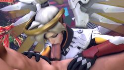 3d angel animated blonde_hair blue_eyes deepthroat duo erection fellatio female laosduude licking mercy nude oral overwatch penis sex sound source_filmmaker straight testicles webm