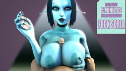 1kmspaint 3d animated areola big_breasts breasts duo elf english_text erect_nipples erection facial_piercing female first_person_view human humanoid male male_pov mammal nipples nose_piercing nose_ring paizuri penis piercing sex soria source_filmmaker text webm