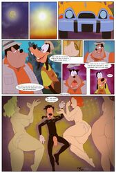 anthro ass breasts canine car clothing comic cum cum_in_pussy cum_inside cum_on_ass cum_on_back debbie_(goof_troop) disney english_text female goof_troop goofy_(disney) grigori_(artist) group hair huge_cock male mammal mature max_goof mother ms._pennypacker nude parent peg_pete penis peter_pete_sr. pussy teeth text tongue vehicle