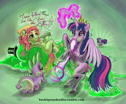 2015 alicorn angry bandana blush bong breasts buckitponydoodles crossed_legs crown dialogue digital_media_(artwork) dragon drugs dual_persona earth_pony english_text equine feathered_wings feathers female feral finger_fuck fingering fire friendship_is_magic group hair hat hippie horn horse long_hair lying male mammal marijuana messy_hair my_little_pony nipples nude on_back pony pussy semi-anthro smile spike_(mlp) stoned text the_smooze tiara top_hat tree_hugger_(mlp) twilight_sparkle_(mlp) url vaginal_penetration wings