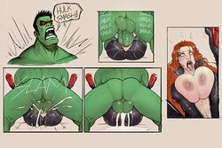 ahe_gao angry balls_deep big_ass big_balls big_penis black_widow bouncing_balls breast_press breast_squish cross-eyed crotch_cutout cum_explosion cum_in_pussy cum_inside cum_leaking cum_overflow cum_pool dangling_testicles defeated devil_hs endured_face excessive_cum eye_roll fucked_silly green_skin helpless huge_balls huge_breasts huge_cock huge_penetration hulk larger_male marvel mating_press monster_cock motion_lines muscular_male penetration pinned_down platform_heels pounding pussy_cutout ridiculous_fit rolling_eyes rough rough_sex size_difference stretched_pussy superhero superheroine thick_penis tight_fit tights tongue_out unzipped vaginal_penetration zipper