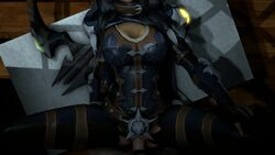 3d alternate_costume animated armor black_hair cassie_(paladins) cfnm cleavage female large_breasts long_hair male missionary no_sound paladins penis pov pussy sex sfmpov source_filmmaker vaginal_penetration webm