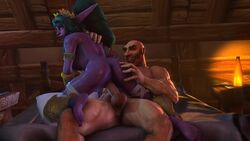 3d animated ass balls cowgirl_position erection feet female galianbeastsfm male night_elf no_sound nude penis pointy_ears sex soles source_filmmaker straight testicles toes tyrande_whisperwind webm world_of_warcraft