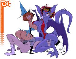 animal_humanoid anus ass balls big_breasts big_butt breasts cowgirl_position cunnilingus danny_phantom demona demona_(gargoyles) disney domination dragon erection facesitting female femdom gargoyle gargoyles group group_sex huge_breasts human human_on_human human_on_humanoid humanoid madeline_fenton male male/female male_penetrating mammal monster_girl_(genre) oral patreon penetration penis pubes pussy sex simple_background slb submissive submissive_male threesome vaginal_penetration vampirella white_background wide_hips witch witch_hat