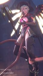 1girls 3d alternate_costume animated areolae blender breasts dreamrider female female_only mercy nipples overwatch penetration pussy sex sound straight tentacle tentacle_sex thighhighs vaginal_penetration volkor webm witch_mercy