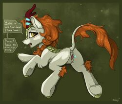 ... 2018 anus ass autumn_blaze_(mlp) blackfury blush chimera clitoris dialogue digital_media_(artwork) english_text eyelashes female feral friendship_is_magic fur grass grey_fur hair hooves horn hybrid kirin looking_at_viewer looking_back lying magic_user my_little_pony open_mouth orange_hair orange_mane orange_tail pink_pussy presenting pussy pussy_juice scales signature simple_background solo speech_bubble spread_pussy spreading text tongue tuft underhoof yellow_eyes